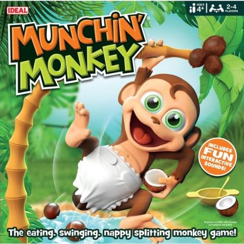 Ideal Munchin' Monkey Action Game