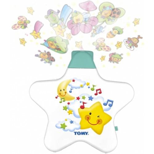 TOMY First Years Starlight Dream Show Baby Night Light Projector