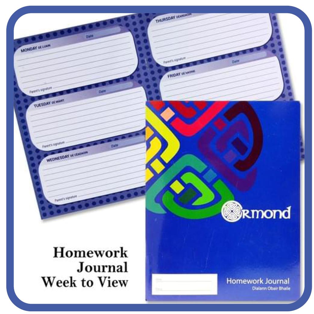 Homework Journals