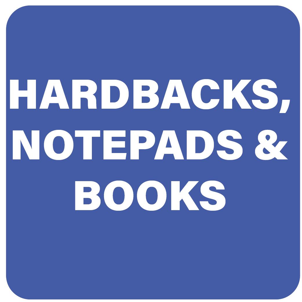Hardbacks, Notepads & Books