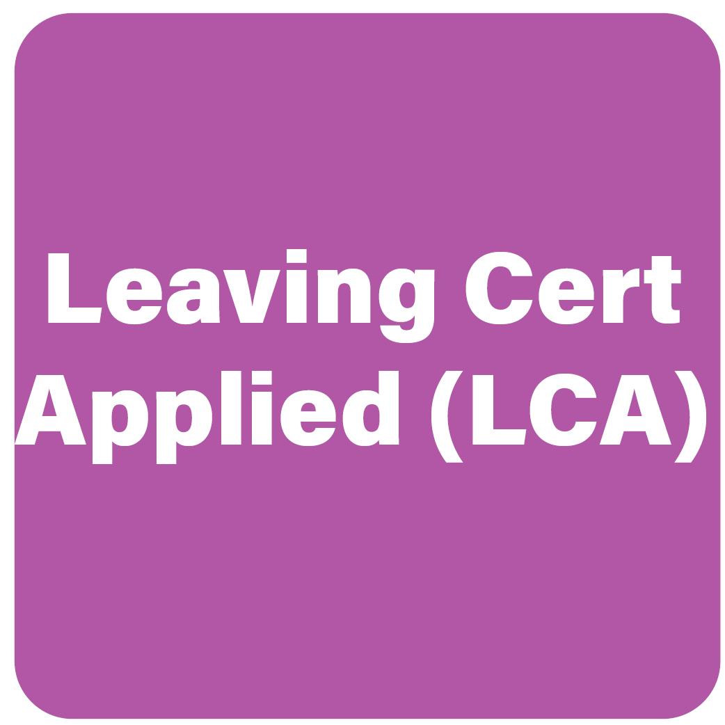 LEAVING CERT Applied (LCA)