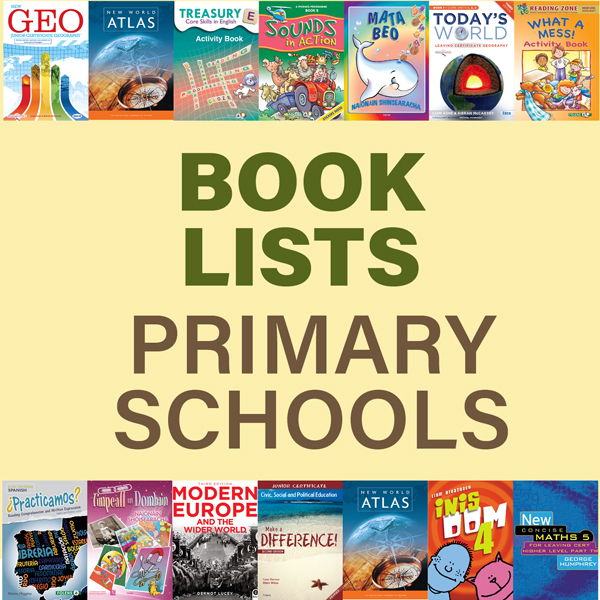 BOOK LISTS - PRIMARY
