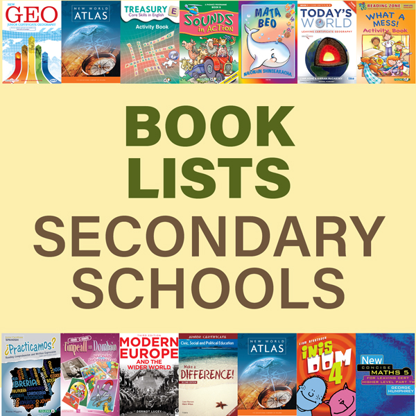 BOOK LISTS - SECONDARY