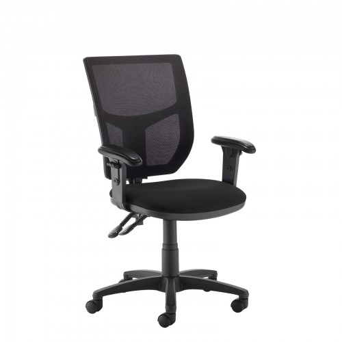 H&T managers chair with mesh back