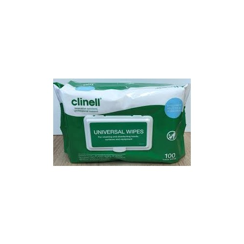 Clinell Universal Wipes (Packs of 100)