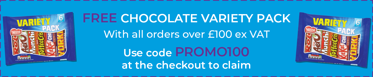 FREE Chocolate with orders over \u00a3100