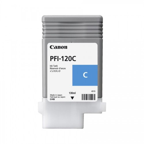 Canon PFI120 Cyan Ink Cartridge OEM