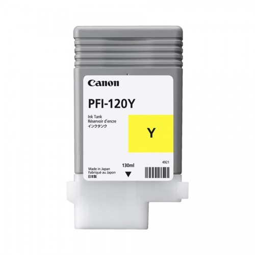 Canon PFI120 Yellow Ink Cartridge OEM