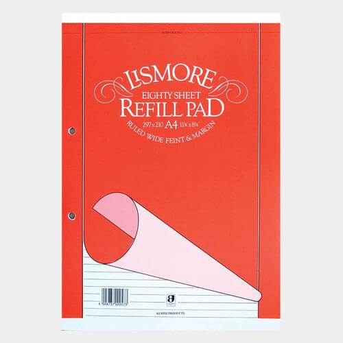 A4 Refill Pad 160 Pages (Pack of 1)