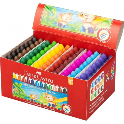 Faber Castell Chublet Crayons (Pack of 96)