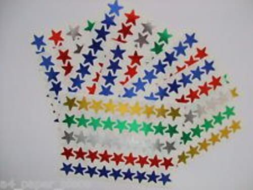Merit Stickers - Stars Assorted Colours (90 Stickers)