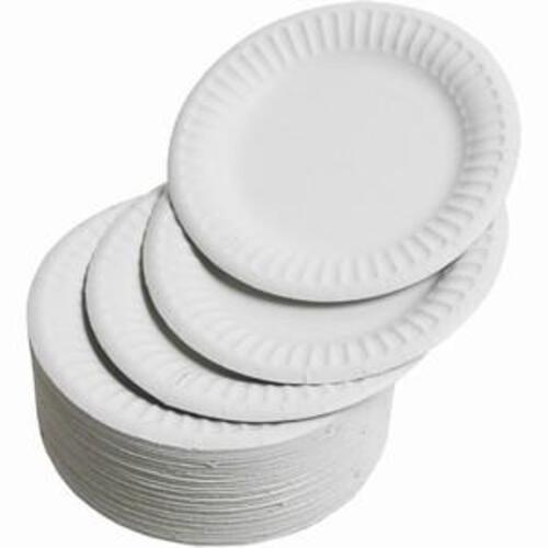 "Paper Plates 7"" Diameter (Pack of 100)"