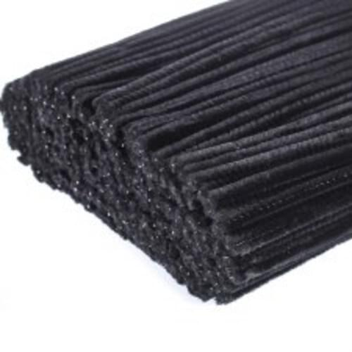 Pipe Cleaners Black (Pack of 50)