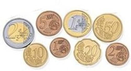 Euro Coins (Pack of 120)