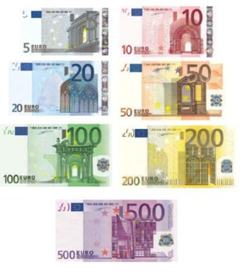 Euro Notes (Pack of 11)