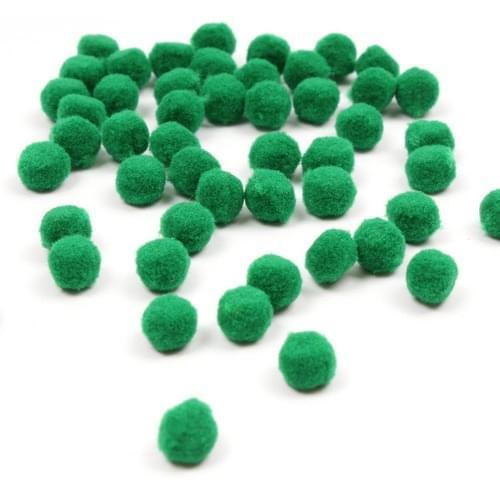 Pom-Poms Green 25mm & 40mm (Pack of 30)