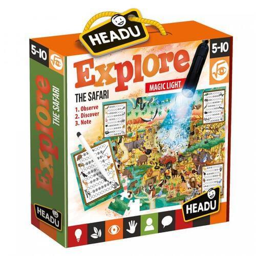 Explore the Safari Jigsaw Puzzle & Educational Game