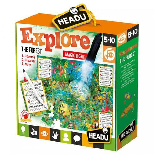 Explore the Forest Jigsaw Puzzle & Educational Game
