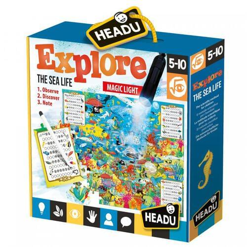 Explore the Sea Life Jigsaw Puzzle & Educational Game