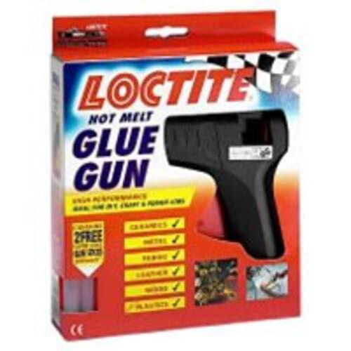 Loctite Glue Gun with Glue Sticks (Pack of 1)
