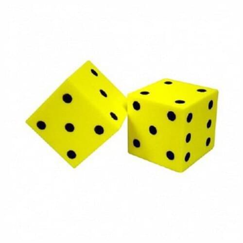 Foam Dot Dice 5cm x 5cm (Pack of 2)