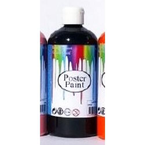 Poster Paint Black 500ml (Pack of 1)