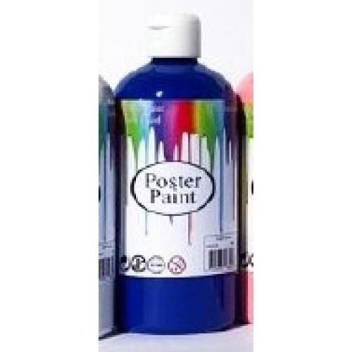 Poster Paint Blue 500ml (Pack of 1)