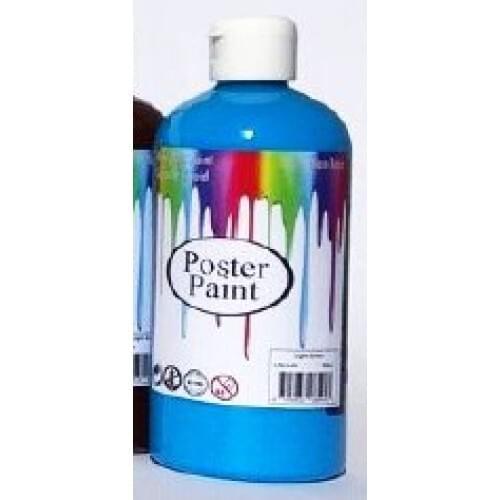 Poster Paint Light Blue 500ml (Pack of 1)