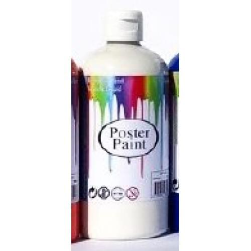 Poster Paint White 500ml (Pack of 1)