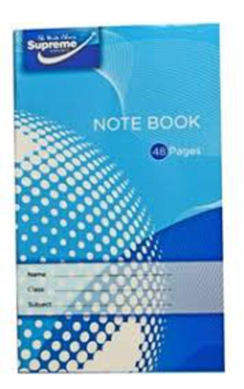 Junior Note Book 48 Pages (Pack 20)