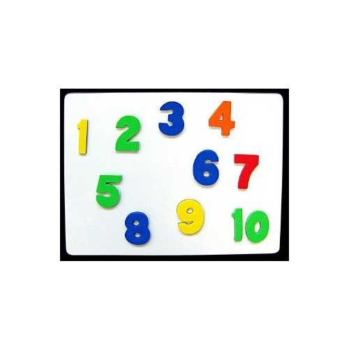 Foam Magnetic Numbers Assorted Colours (Pack of 100)