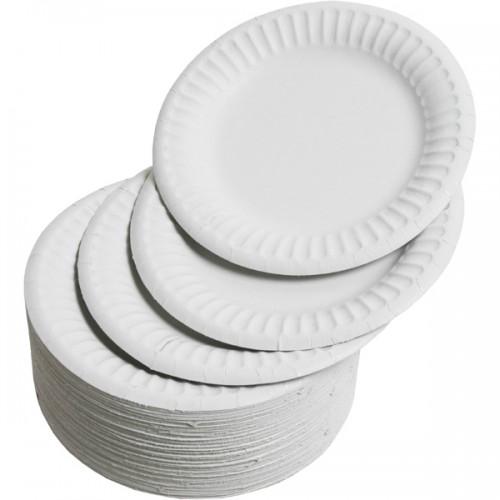 "Paper Plates 9"" Diameter (Pack of 100)"