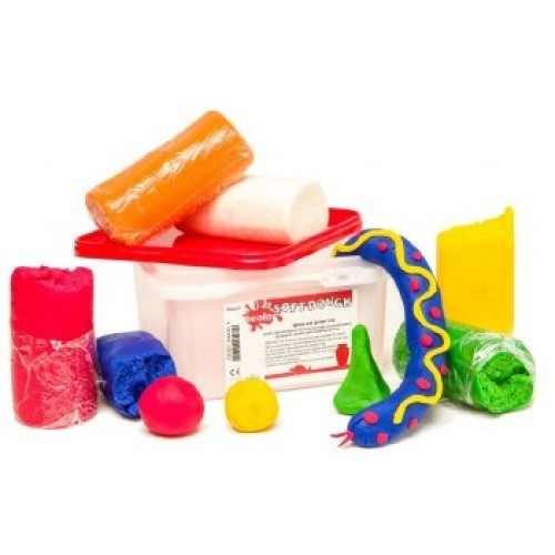 Playdough In Tub Assorted Colours (Pack of 8)