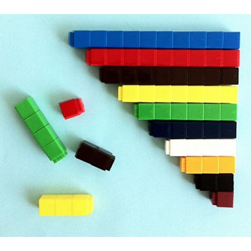 Counting Cubes Assorted Colours (Pack of 100)