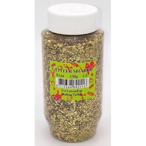 Shaker Glitter - Large Gold 230g (Pack of 1)