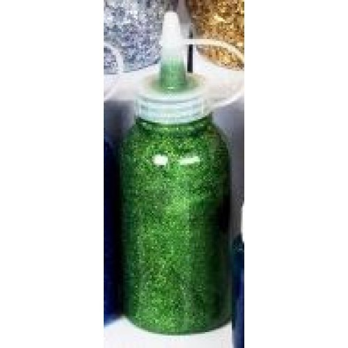 Glitter Glue Nozzle Top - Green (Pack of 1)
