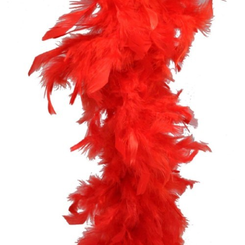 Feathers Red (Pack of 200)