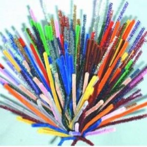 Pipe Cleaners Assorted Colours Bumper Pack (Pack of 200)