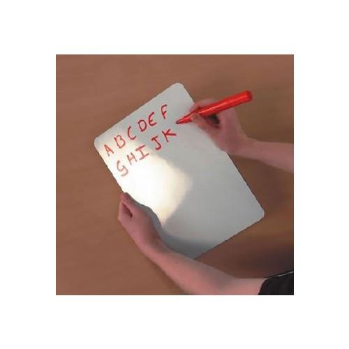 Whiteboard Plain Non Magnetic A4
