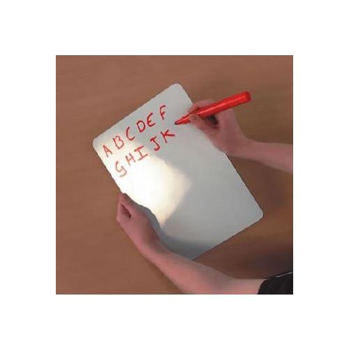 Whiteboard Plain Magnetic A4