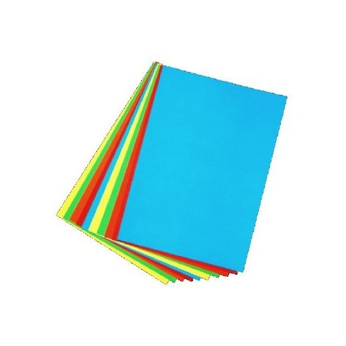 Chart Board Assorted Bold Colours A2 (100 Sheets)