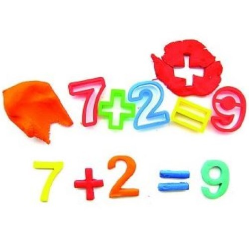 Dough Cutters Numbers (Pack of 17)