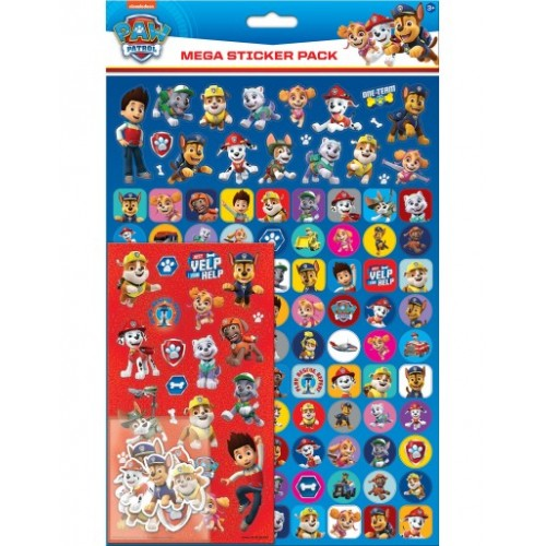 Paw Patrol Mega Pack Stickers