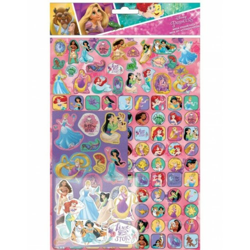 Disney Princess Mega Pack Stickers