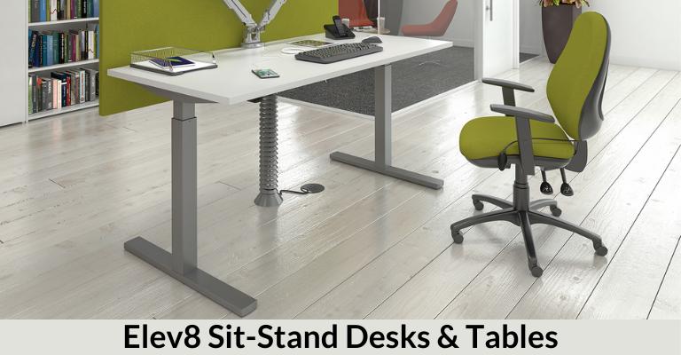 Elev8 Sit-Stand Desks & Tables