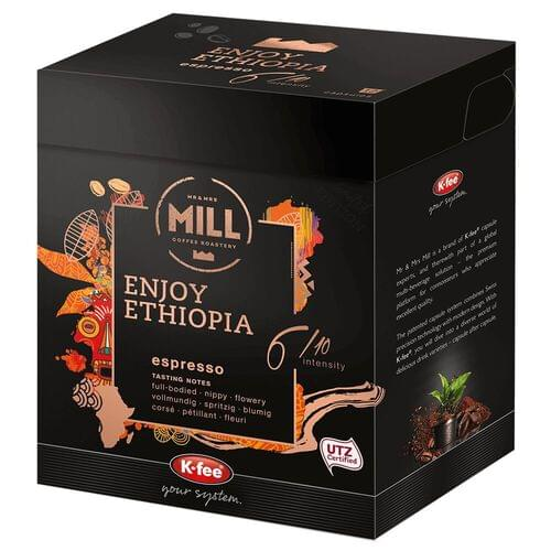 Enjoy Ethieopia Coffee Pods 6 (Pack of 12)