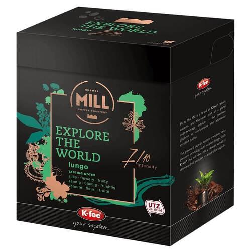 EXplore The World Coffee Pods 7 (Pack o f12)