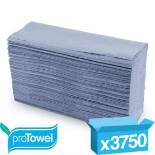 Blue z fold handtowels boxed 3000