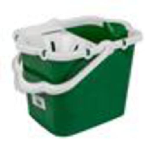 Plastic Strainer Type Mop Bucket Green