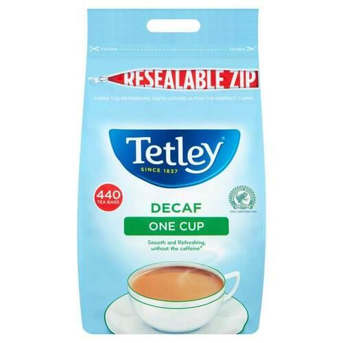 Tetley Decaf Teabag (PKT  440)
